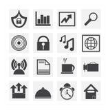 Bedrijfs pictogram Stock Fotografie