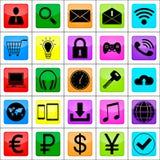 Bedrijfs pictogram Stock Foto's