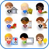 Bedrijfs pictogram Royalty-vrije Illustratie