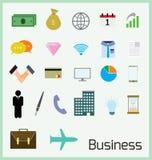 Bedrijfs pictogram Royalty-vrije Stock Afbeeldingen