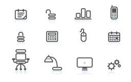 Bedrijfs pictogrammen Stock Afbeelding