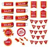 Bedrijfs pictogrammen Royalty-vrije Stock Afbeelding