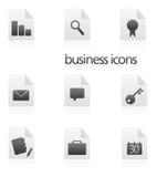 Bedrijfs pictogrammen Royalty-vrije Stock Fotografie