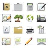 Bedrijfs pictogrammen, reeks 2. Royalty-vrije Stock Foto