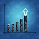 Bedrijfs planning en de groei Stock Foto