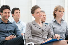 Bedrijfs presentatie royalty-vrije stock afbeelding