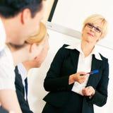 Bedrijfs presentatie in vergadering Stock Foto's