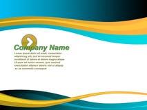 Bedrijfs presentatiemalplaatje Royalty-vrije Stock Afbeeldingen