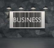 Bedrijfs qr code Royalty-vrije Stock Foto's