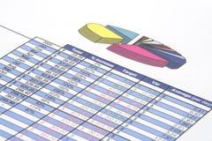 Bedrijfs Rapport Stock Afbeelding