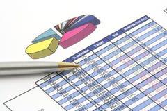 Bedrijfs Rapport Stock Fotografie