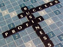 Bedrijfs Reclame Royalty-vrije Stock Foto