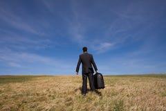 Bedrijfs reis stock foto