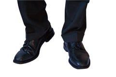 Bedrijfs schoenen Royalty-vrije Stock Foto