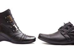 Bedrijfs schoenen Stock Foto