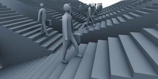 Bedrijfs stappen #2 stock illustratie