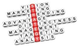 Bedrijfs strategie Stock Afbeeldingen