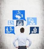 Bedrijfs strategie Stock Fotografie