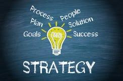 Bedrijfs strategieconcept Stock Afbeelding