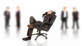 Bedrijfs succes Stock Foto