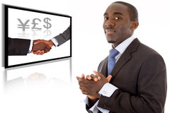 Bedrijfs Succes Royalty-vrije Stock Afbeelding