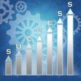 Bedrijfs succes Stock Afbeeldingen
