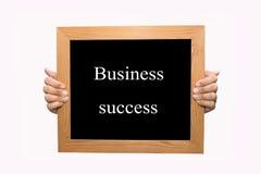 Bedrijfs succes royalty-vrije stock fotografie