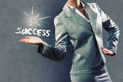 Bedrijfs succes Royalty-vrije Stock Afbeeldingen