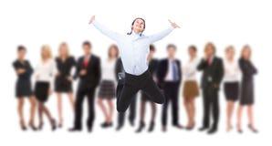 Bedrijfs succes Royalty-vrije Stock Foto's