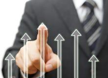 Bedrijfs succes en de groeiconcept Royalty-vrije Stock Foto