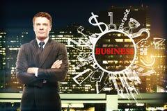 Bedrijfs succesconcept Stock Foto's