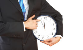 Bedrijfs tijd stock foto