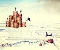 Bedrijfs uitdaging Royalty-vrije Stock Afbeeldingen