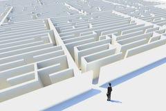 Bedrijfs uitdagingen, teruggegeven 3d. Royalty-vrije Stock Foto