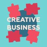 Bedrijfs uitstekend concept Bedrijfsraadselillustratie Bedrijfs concept vector illustratie