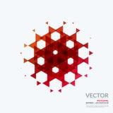 Bedrijfs vectorontwerpelementen voor grafische lay-out modern Stock Afbeelding
