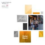 Bedrijfs vectorontwerpelementen voor grafische lay-out Moderne samenvatting Royalty-vrije Stock Afbeelding