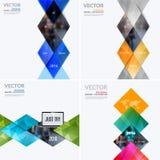 Bedrijfs vectorontwerpelementen voor grafische lay-out Moderne samenvatting Royalty-vrije Stock Foto's