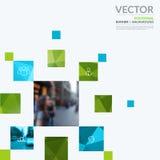 Bedrijfs vectorontwerpelementen voor grafische lay-out Moderne samenvatting Royalty-vrije Stock Fotografie