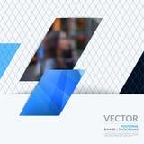 Bedrijfs vectorontwerpelementen voor grafische lay-out Moderne samenvatting Stock Foto