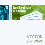 Bedrijfs vectorontwerpelementen voor grafische lay-out Moderne samenvatting Stock Foto's