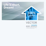Bedrijfs vectorontwerpelementen voor grafische lay-out Moderne samenvatting Royalty-vrije Stock Afbeeldingen