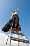 Bedrijfs visie Stock Foto