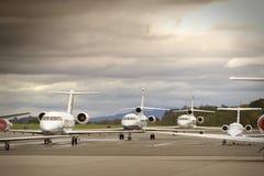 Bedrijfs Vliegtuigen Royalty-vrije Stock Afbeeldingen