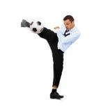Bedrijfs voetbal Stock Foto's