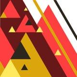 Bedrijfs voorwaarts concept, abstracte pijl vectorillustratie als achtergrond Royalty-vrije Stock Afbeelding
