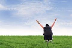 Bedrijfs vrijheid openlucht Stock Fotografie