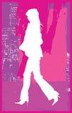 Bedrijfs Vrouw 2 vector illustratie