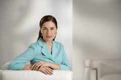 Bedrijfs vrouw. royalty-vrije stock foto