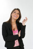 Bedrijfs vrouw #3 Royalty-vrije Stock Afbeeldingen